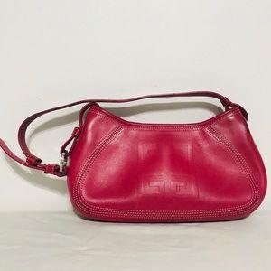 GIVENCHY Pink Leather Shoulder Bag